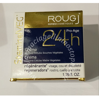 Rougj Steminelveg Crema 24H rigenerante Viso collo e Decolleté
